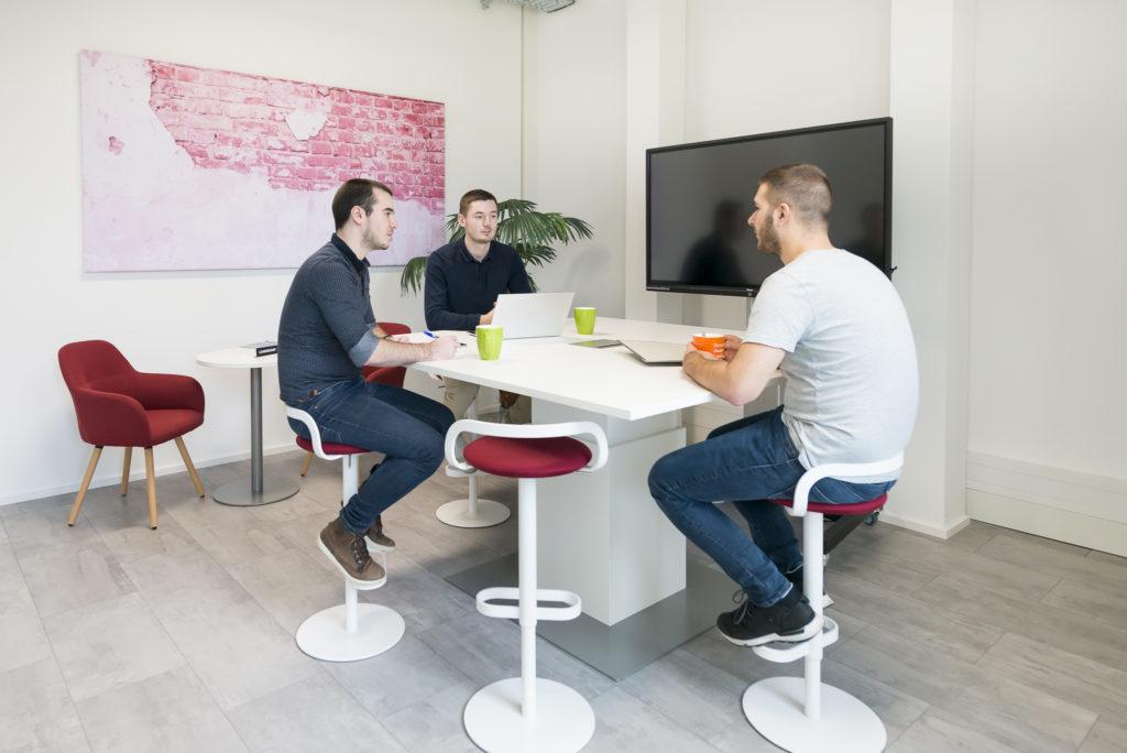 Des salles de réunion modulables